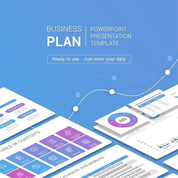 Business plan graphics designs templates from graphicriver business plan powerpoint presentation template wajeb Image collections