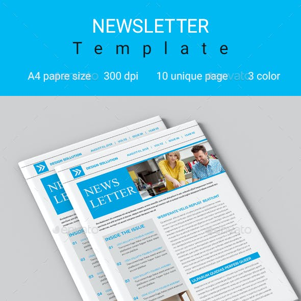 newsletter templates from graphicriver