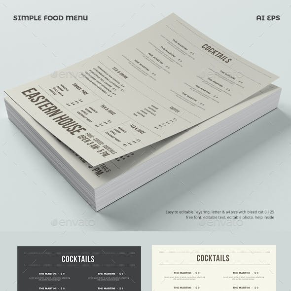 Fun Menu Graphics Designs Templates From Graphicriver