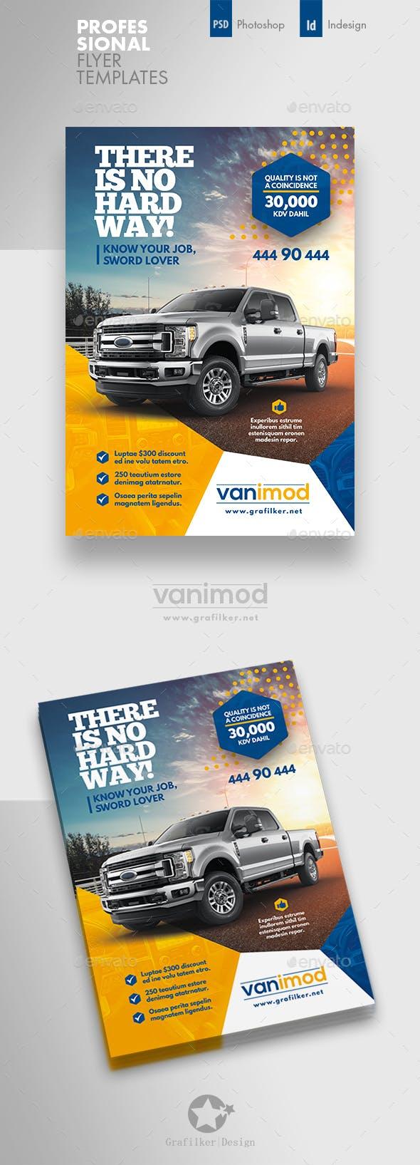 car sales flyer templates by grafilker graphicriver