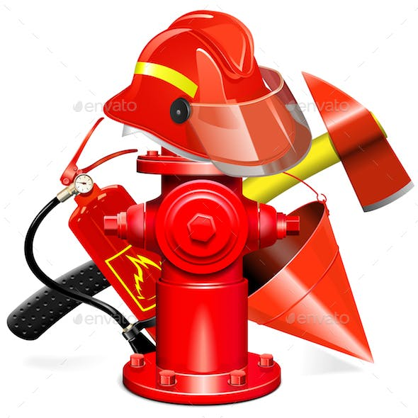 fire hydrant graphics designs templates from graphicriver