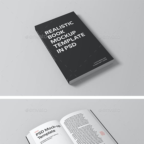 book mockups from graphicriver