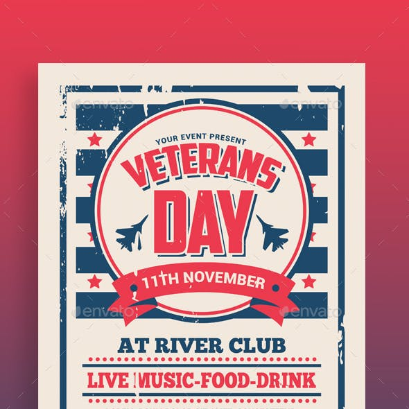 patriotic flyer graphics designs templates from graphicriver