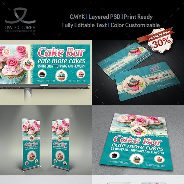 cake flyer graphics designs templates from graphicriver