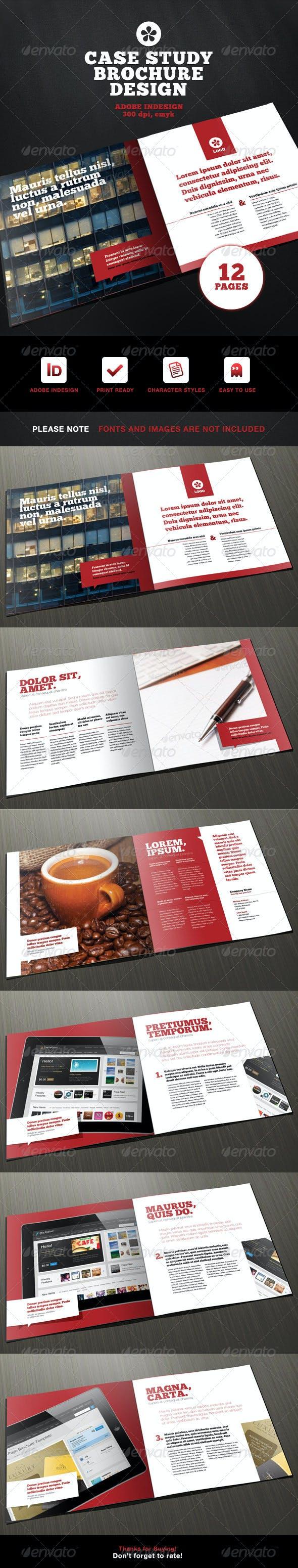 Menu For Olive Garden: Professional Case Study Brochure Design By Ramijames
