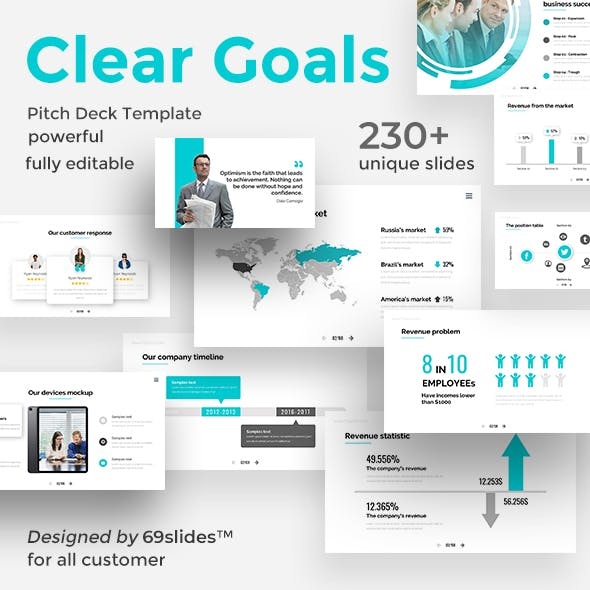 Powerpoint templates from graphicriver clear goals premium pitch deck powerpoint template maxwellsz