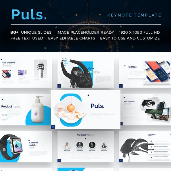 Presentation powerpoint templates from graphicriver puls keynote presentation template maxwellsz