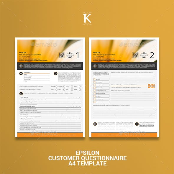 survey stationery and design templates from graphicriver