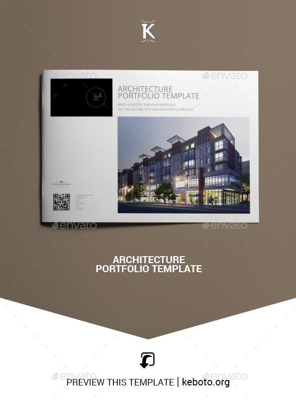architecture portfolio template by keboto graphicriver