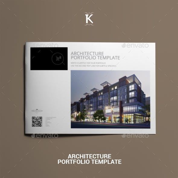 architecture portfolio template graphics designs templates
