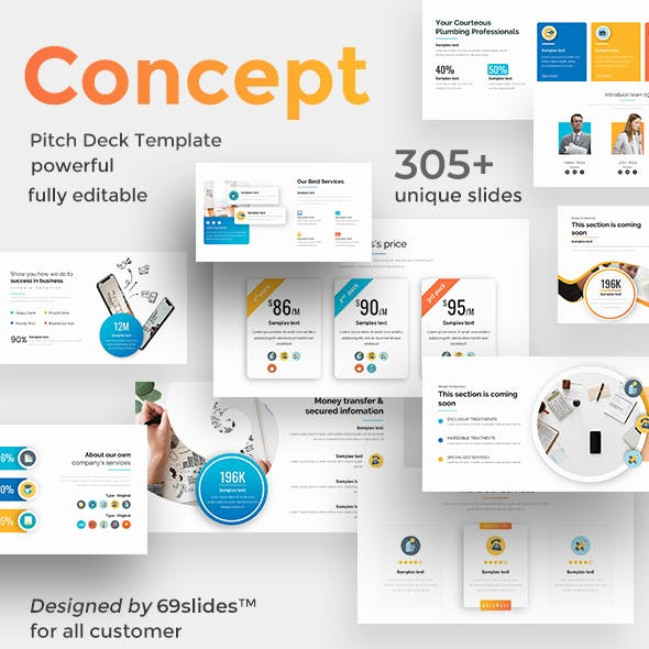 Powerpoint templates from graphicriver corporate values pitch deck powerpoint template wajeb Images