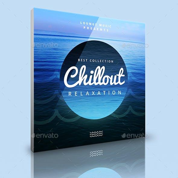 Chillout - Music Cover Album Artwork Web Template by djjeep