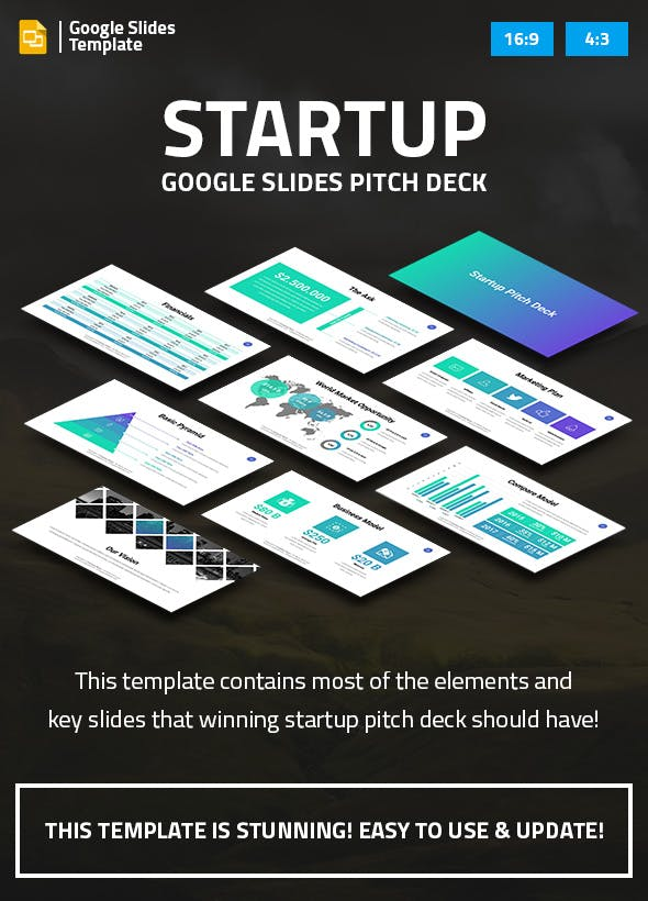 startup business google slides pitch deck by spriteit graphicriver