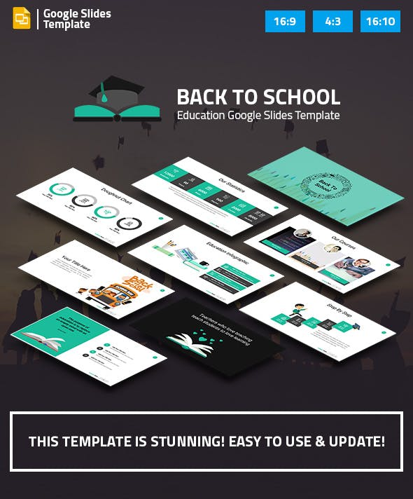 education and learning google slides presentation template by spriteit