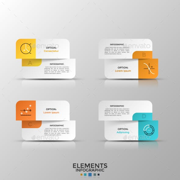 make your own infographics with graphicriver