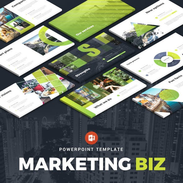 marketing powerpoint templates from graphicriver