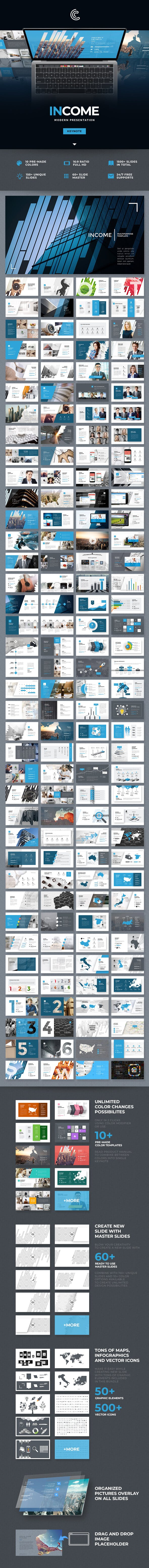 income powerpoint by alitolama graphicriver