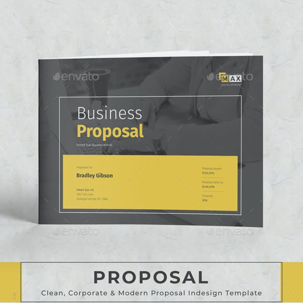 business proposal invoice templates from graphicriver