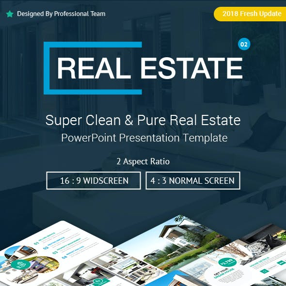 real estate presentation templates from graphicriver