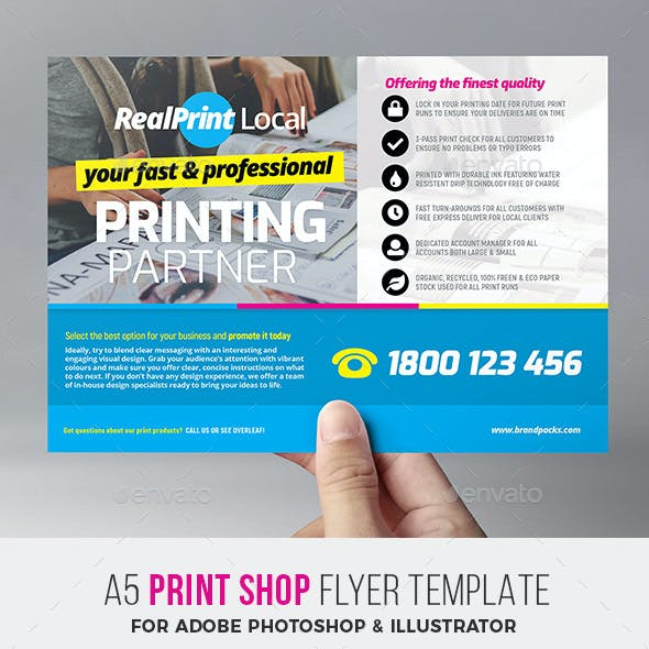 commerce flyer templates from graphicriver