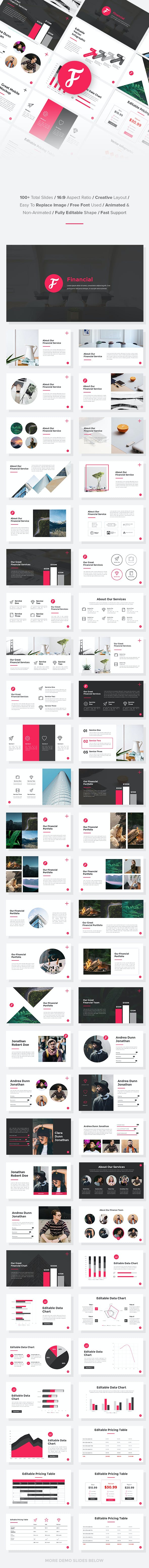 financial finance powerpoint template by suavedigital graphicriver