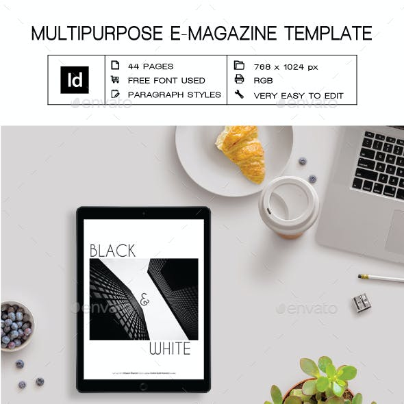 online magazine templates from graphicriver