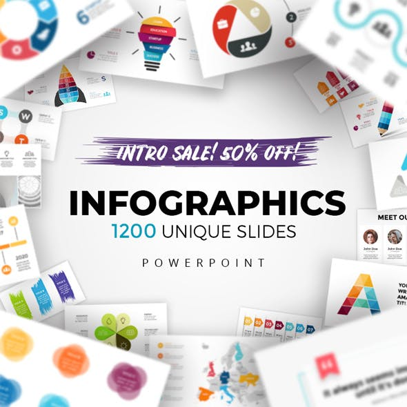 infographic powerpoint templates from graphicriver