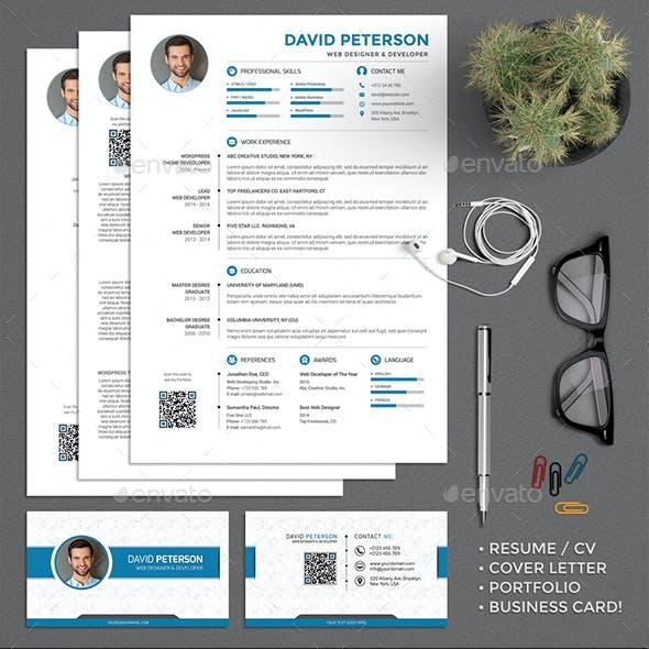 Resume CV Set