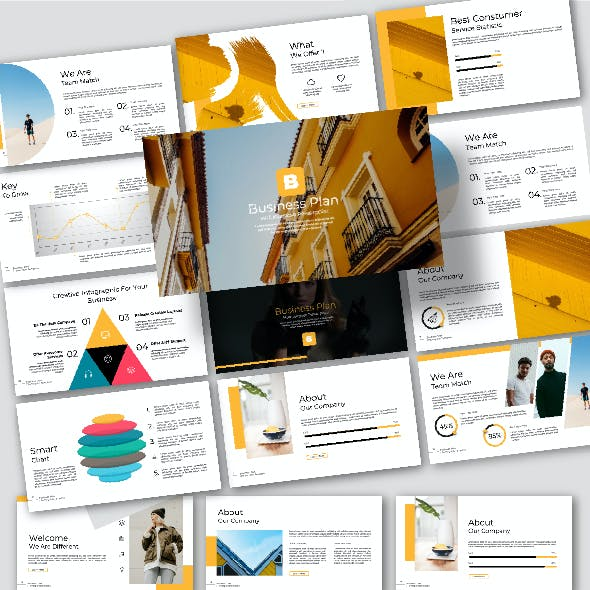 texting corporate presentation templates from graphicriver