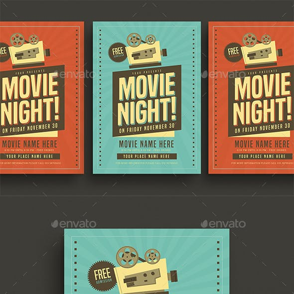 movie graphics designs templates from graphicriver
