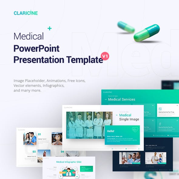 pharmacy presentation templates from graphicriver
