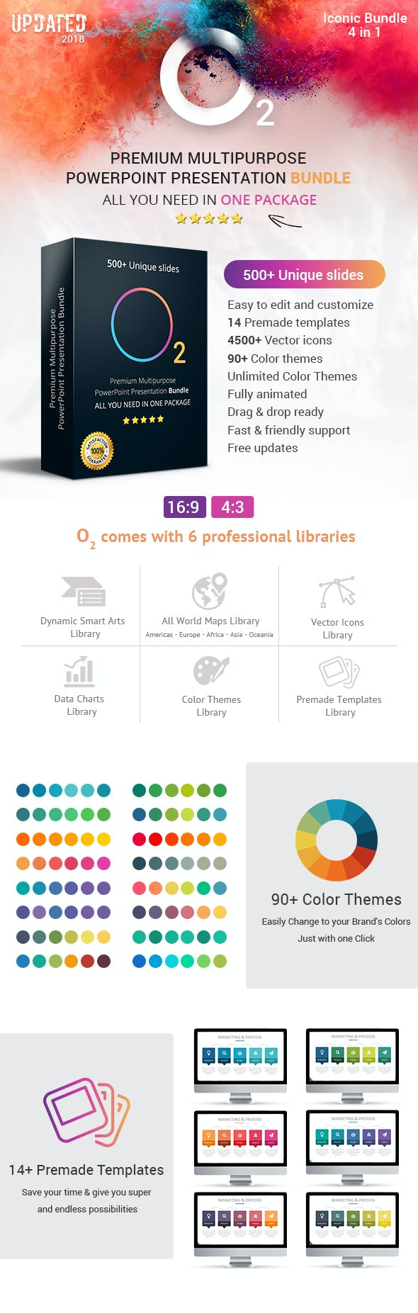 o2 complete business solutions top powerpoint templates bundle by
