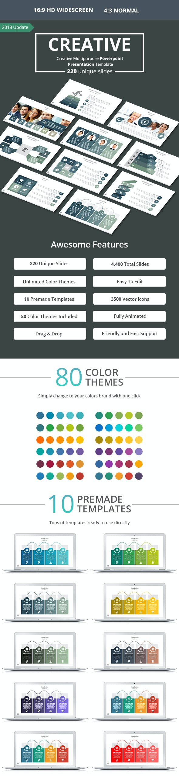 creative powerpoint presentation template by as 4it graphicriver