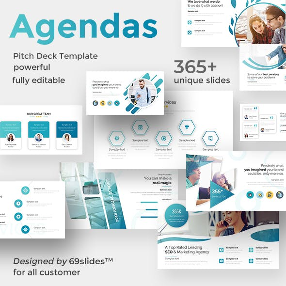 pitch deck graphics designs templates from graphicriver