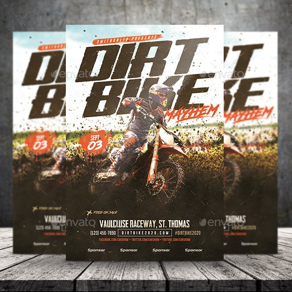 motocross graphics designs templates from graphicriver
