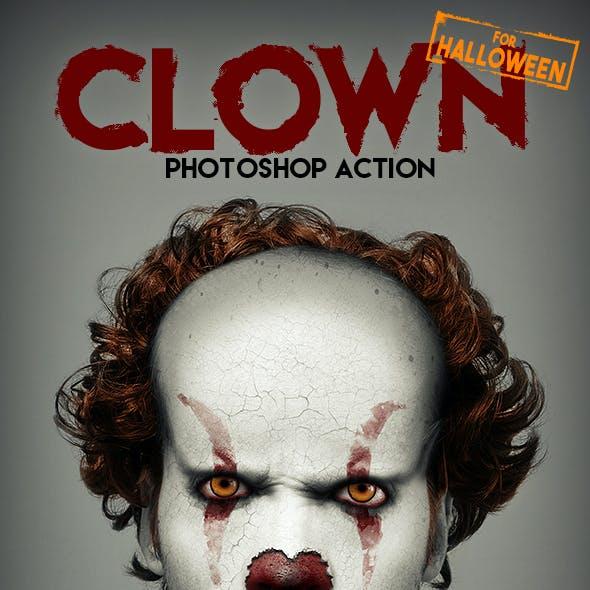 clown mask template.html
