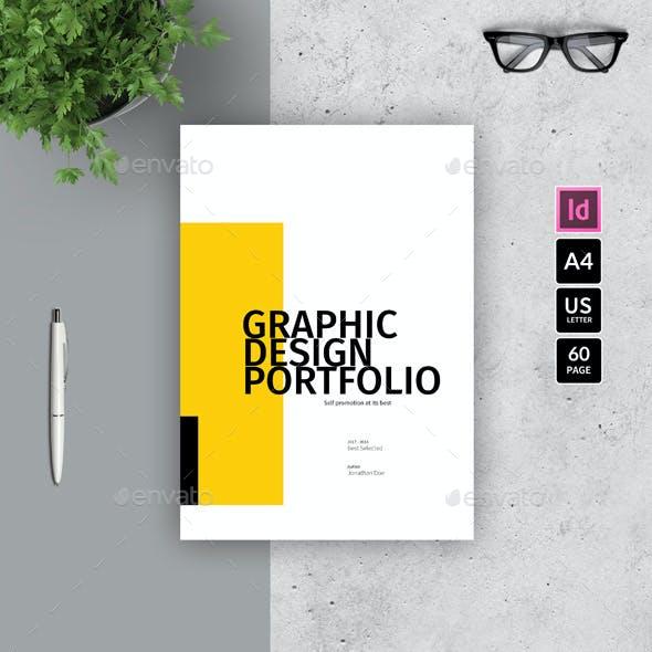 A4 graphic design portfolio