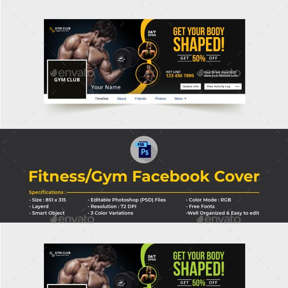 facebook cover graphics designs templates from graphicriver