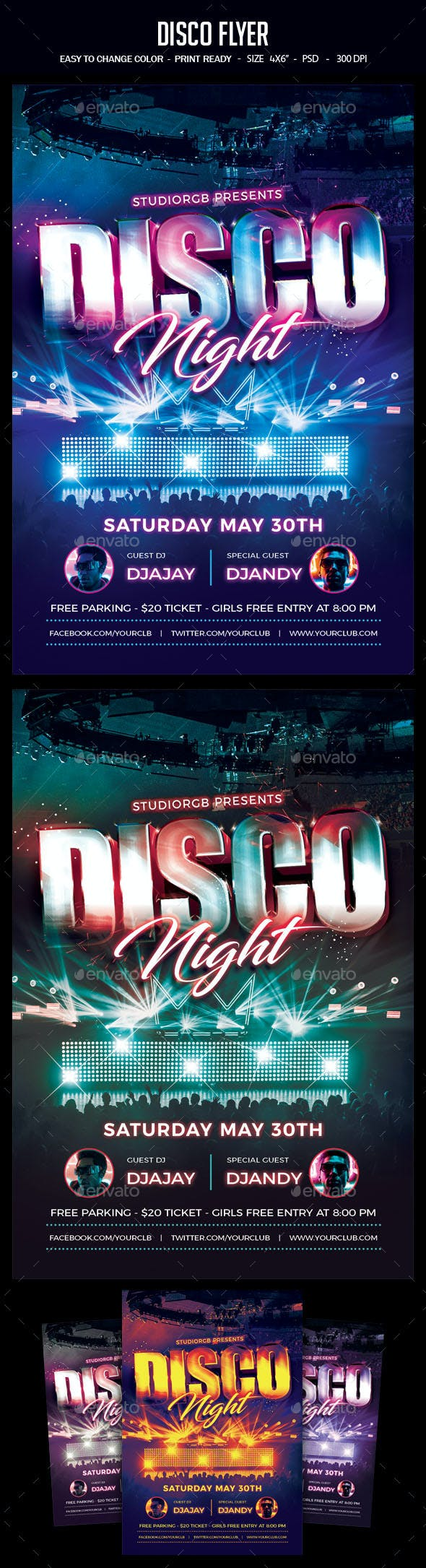 disco flyer by studiorgb graphicriver