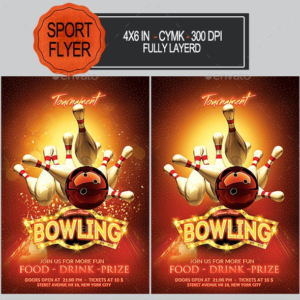 Sport And Template Sporting Event Flyer Templates