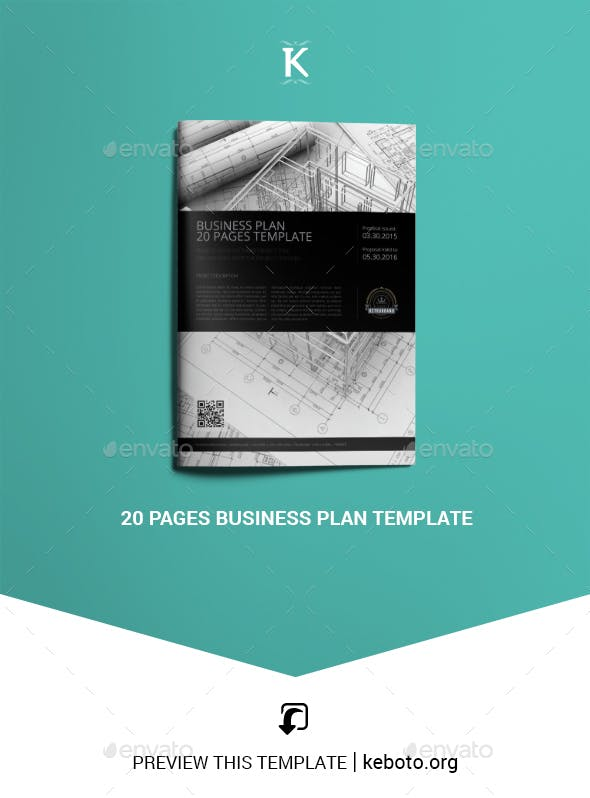 business plan template pages