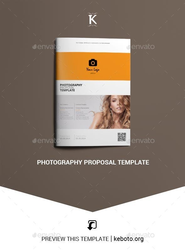 Photography Proposal Template By Keboto Graphicriver