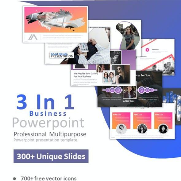 3 in 1 business powerpoint bundle