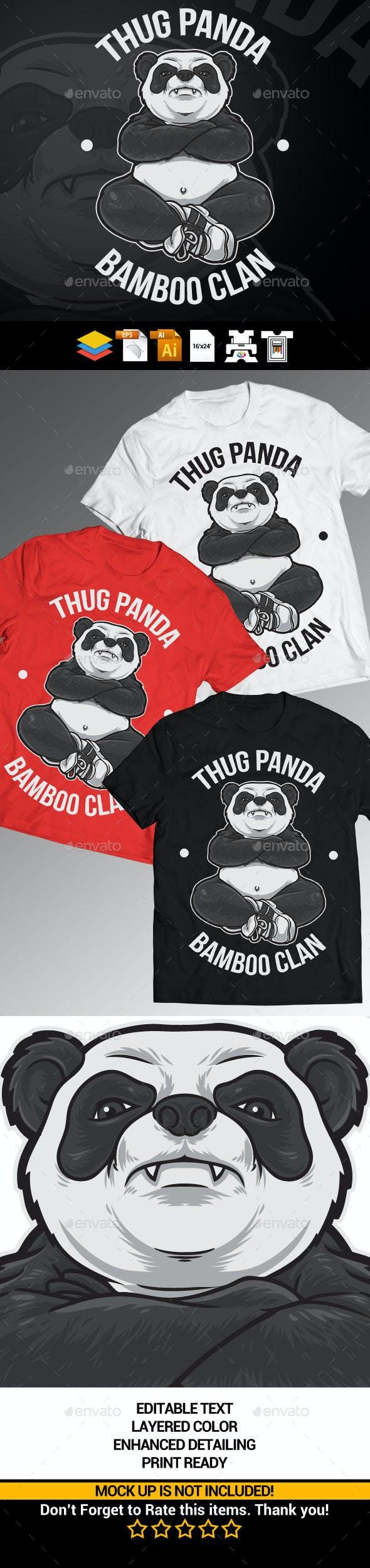 Thug Panda By Rautanstudio Graphicriver