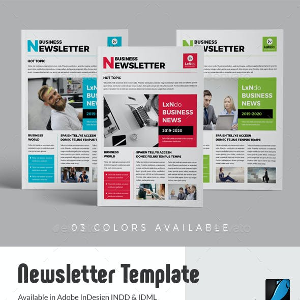 News And Newsletter Newsletter Templates From Graphicriver