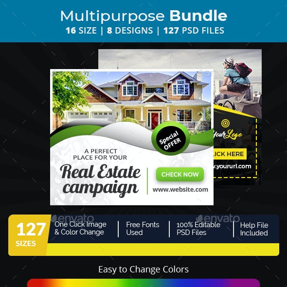 Banners Ad Templates From GraphicRiver