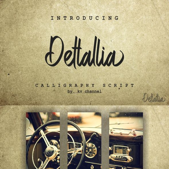 Script Fonts from GraphicRiver (Page 5)