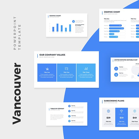 Vancouver Business Pitch Deck Powerpoint Template By Louistwelve Design