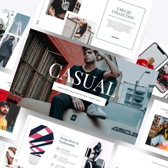 Casual - Fashion Powerpoint Template