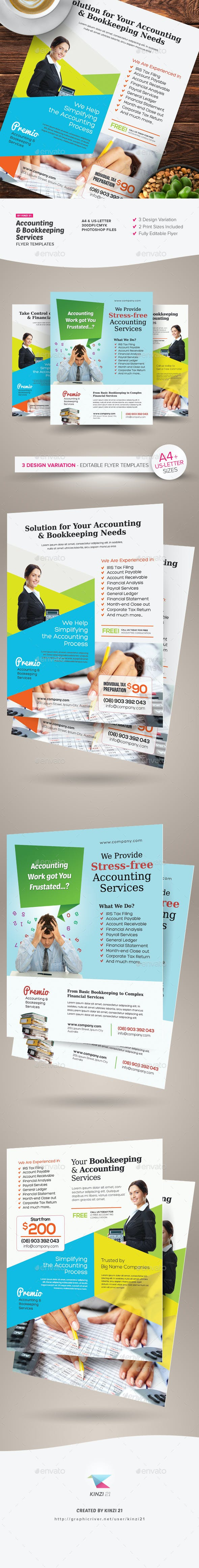 Template Cover Letter Accounting Graphic River And Bookkeeping Services Flyers Kinzi Ecyvmk on